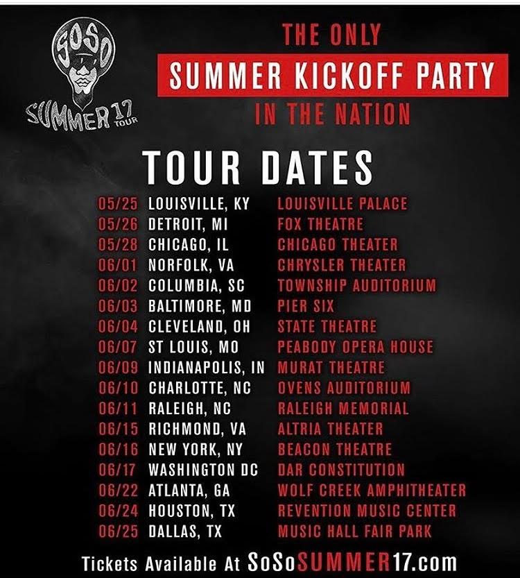 Jermaine Dupri Kicks Off So So Summer17 Rap Game Tour With Nia Kay and More