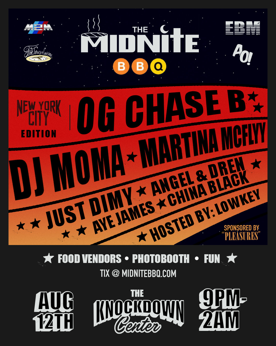 The Midnite BBQ Hits NYC August 12th With Host Lowkey