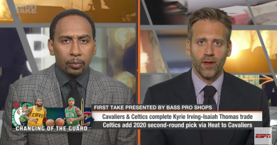 Stephen A. & Max Debate Kyrie Irving-Isaiah Thomas Trade