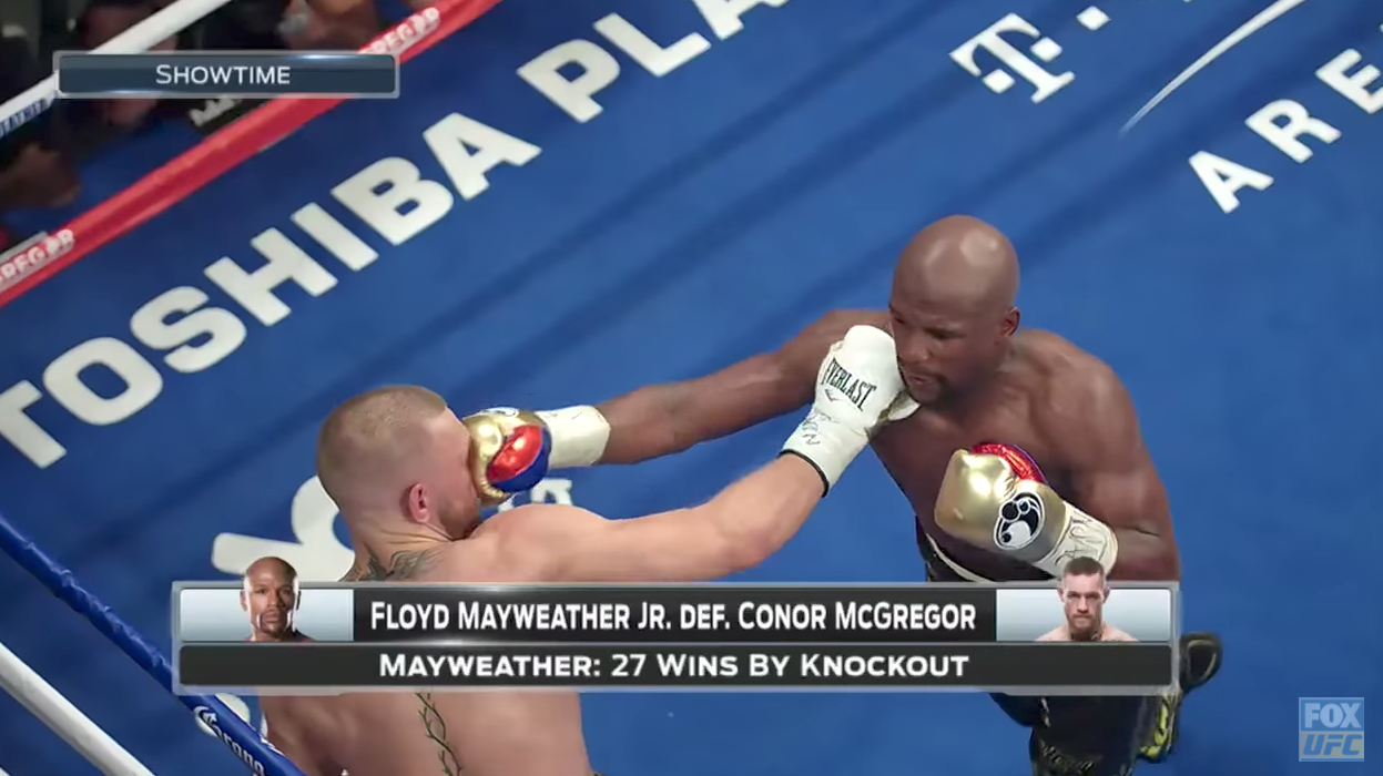 Conor McGregor vs. Floyd Mayweather Fox Recap