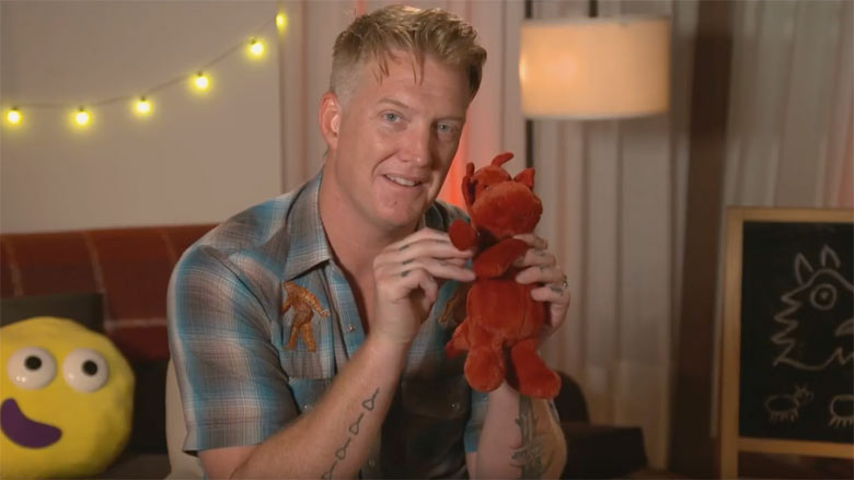 QOTSA's Josh Homme Reads Bedtime Stories