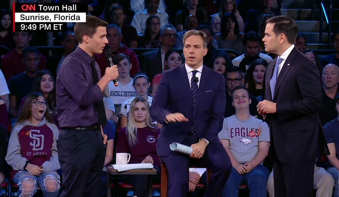 Marco Rubio Gets Put In His Place By A High Schooler